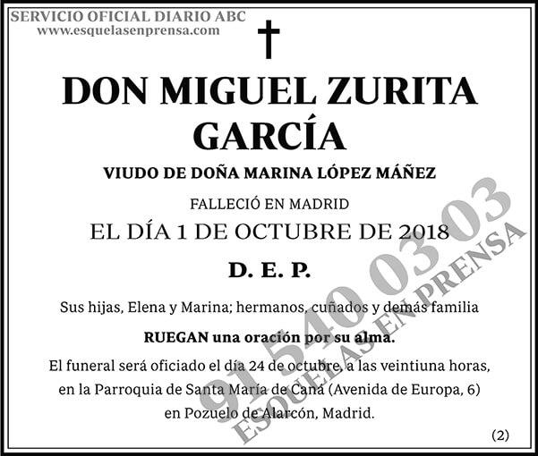 Miguel Zurita García